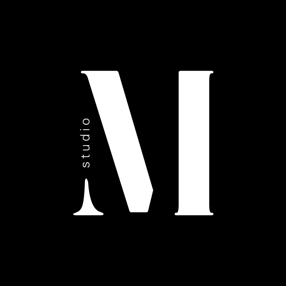 Logo Studio M invertito